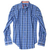 Robert Graham Agate Tailored Fit Sport Shirt in Sky XS151011TF