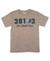 Sportiqe Memphis Grizzlies 38103 We Grind Here T-shirt in Grey FF8179.1