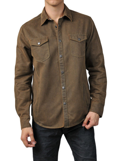 Jeremiah Colt Suede Cotton Jacket J850028