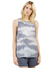 Tart Collection Lily Top in Textured Shibori T6623
