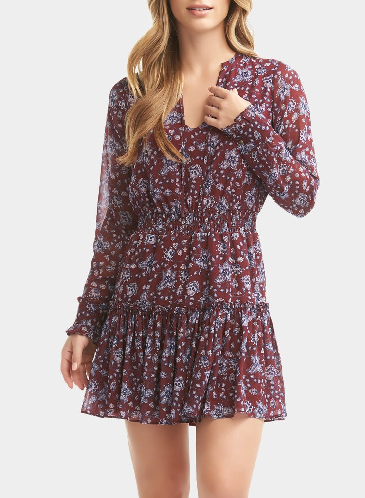 Tart Collections Heather Dress Fall Floral T11169, Fall Floral, XS