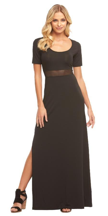 Tart Collections Blake Maxi in Black T2474