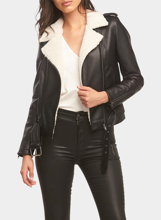 Tart Nico Jacket in Black/Cream T90656