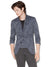 John Varvatos Abstract Print Jacket in Lake Blue JVS1558B-65WV