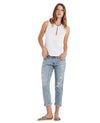 AG Jeans Women's The Ex-Boyfriend Slim Boyfriend Jeans in 24 Years Relief LED1575