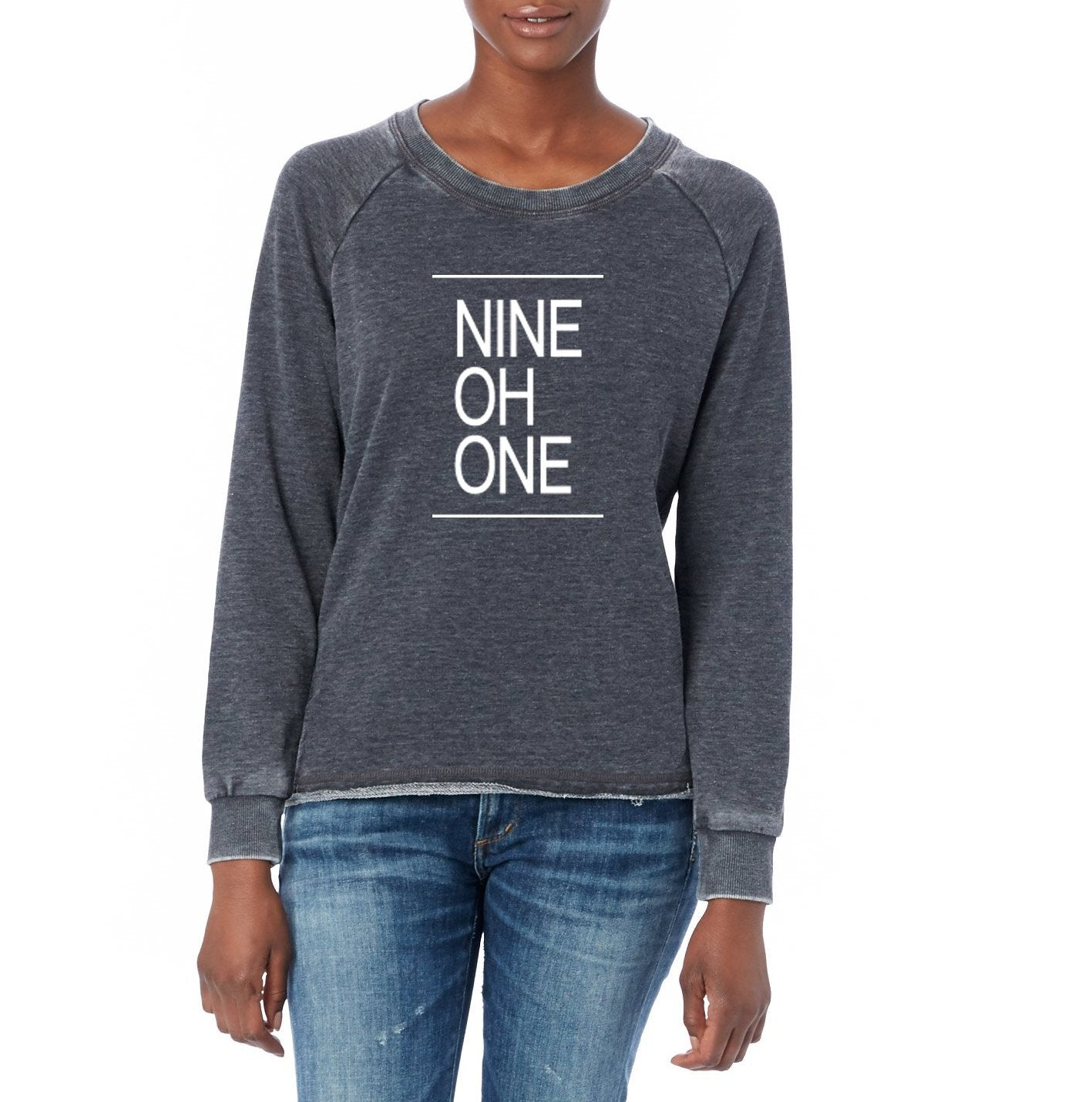 861ff42ab12296 Baer's Den Nine Oh One Lazy Day Burnout French Terry Pullover BD-08626FH-901