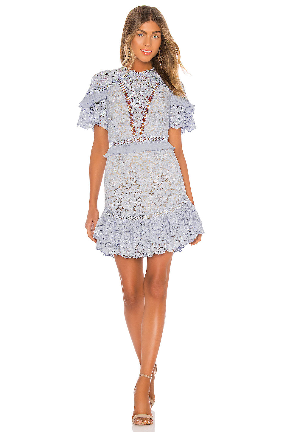 Saylor Julep Floral Lace Dress