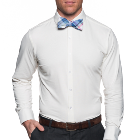 Mizzen+Main The Blackman 2.0 White Dress Shirt | Spread Collar MM-1700-SC