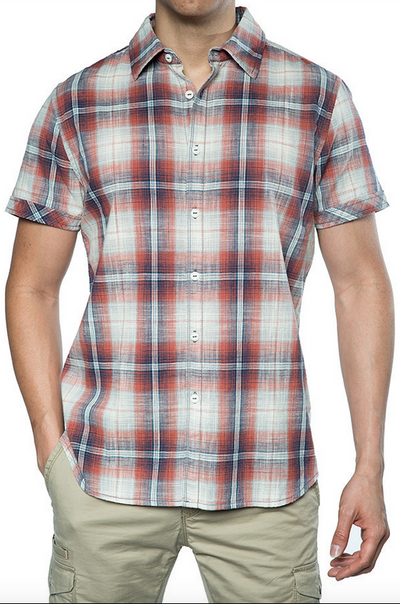 Jeremiah Stonehill S/S Button Down Shirt J830036