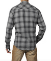 Jeremiah Ansel Plaid LS Shirt in Black J840032