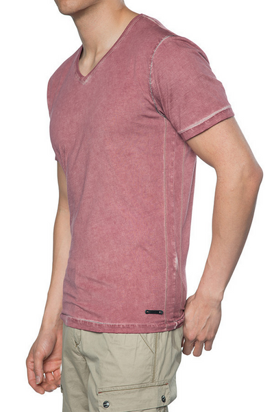 Jeremiah Julian Short Sleeve V-Neck Tee J810039