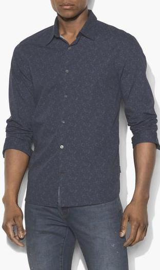 John Varvatos L/S Button Front Shirt W184U3B-67JA