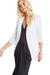 BCBGeneration Welt Pocket Tuxedo Blazer in Optic White XYE4H864
