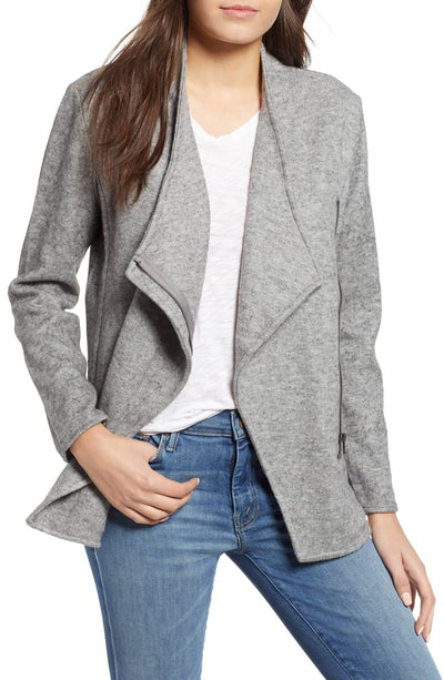 BB Dakota Downtown Jacket in Heather Grey BI302647