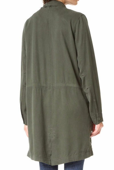 BB Dakota Carthy Coat in Army Green BG30997