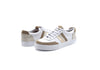 Kaanas Colorado Contrast Stripe Sneakers in Vanilla 476W-VNL