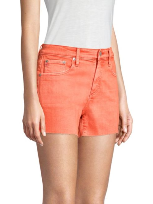 AG Jeans Hailey Cut Off Shorts in 1 Year Hi White Faded Azalea DSD1714RH 01Y-HFZ
