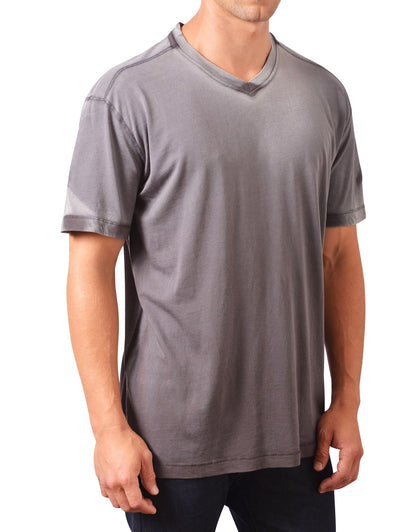 Minerals Short Sleeve Shadow Dye V-Neck Tee MN-1014-PJ