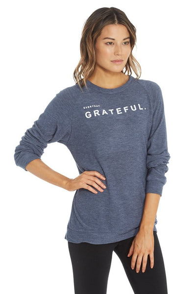 good hYOUman The Dave Pullover - Everyday Grateful 106137P