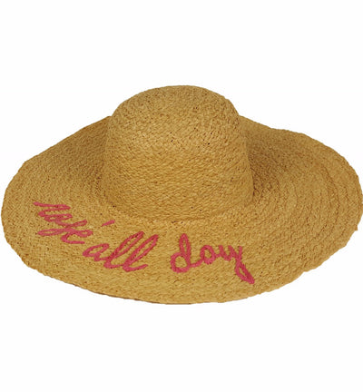 Hat Attack What's Your Moto Sunhat HCL407
