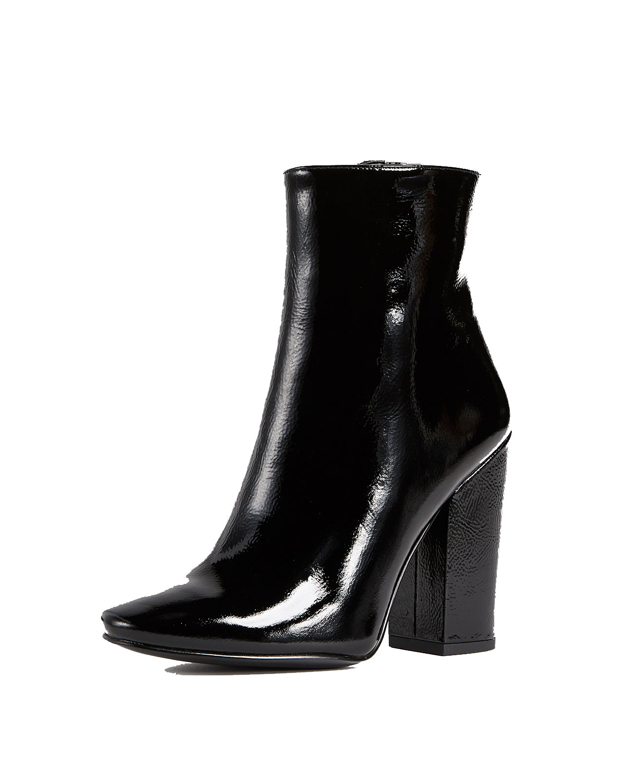 Kendall + Kylie Haedyn2 Patent Black Bootie