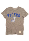 Retro Brand Memphis Tigers Ladies Tee with Tiger Graphic