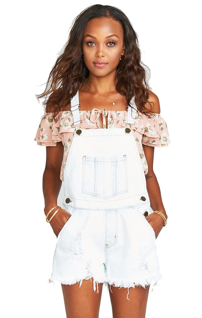 Show Me Your Mumu Georgia Overalls in Polar Acid MDS8-042