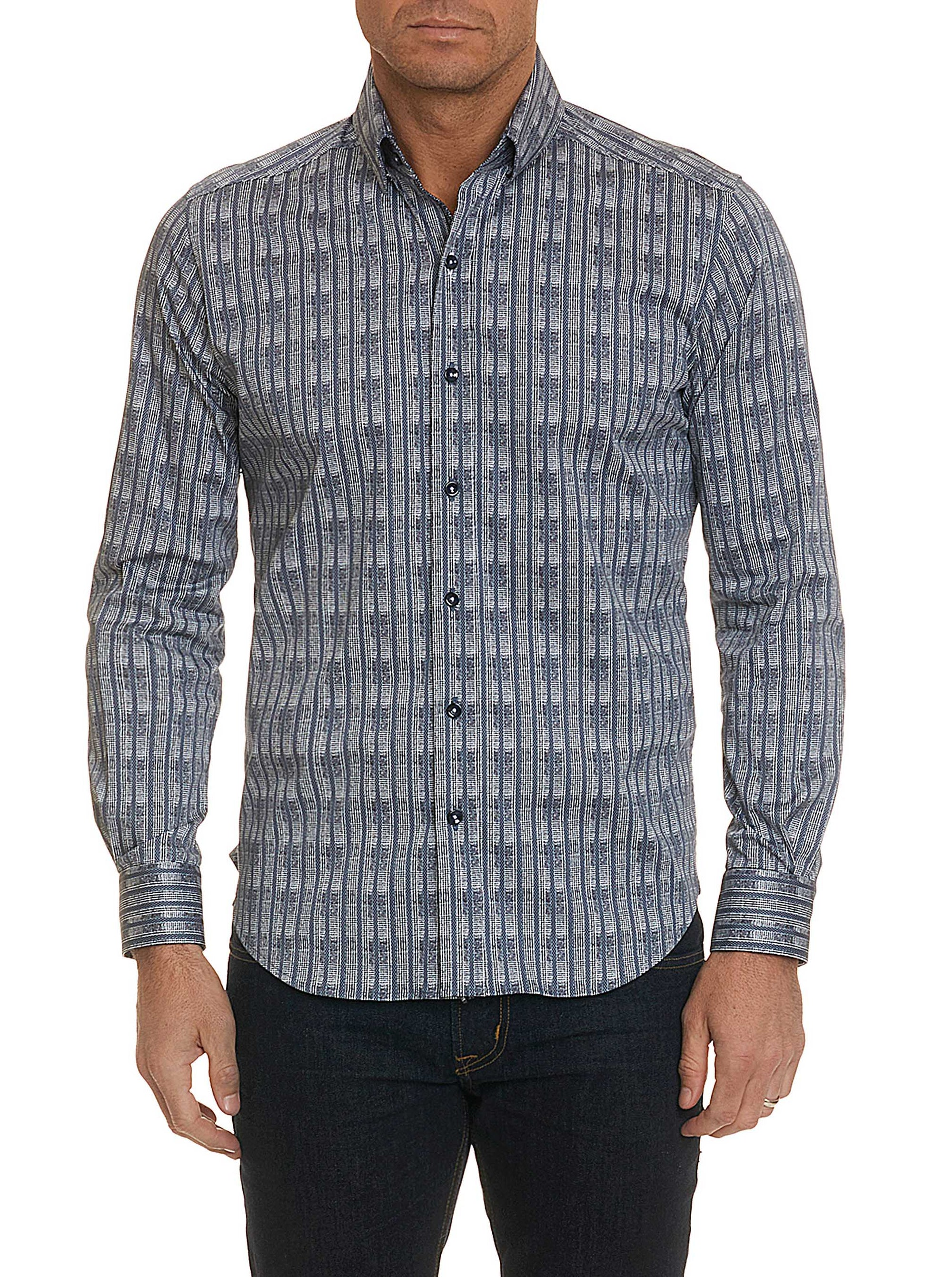 Robert Graham Banyan Button Down Sport Shirt MF181114TF