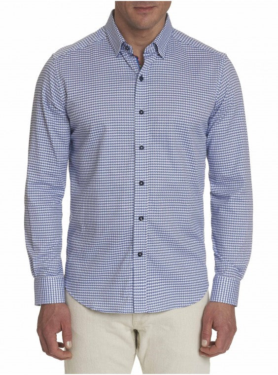 Robert Graham Miller Spoart shirt Light Blue MF191135TF