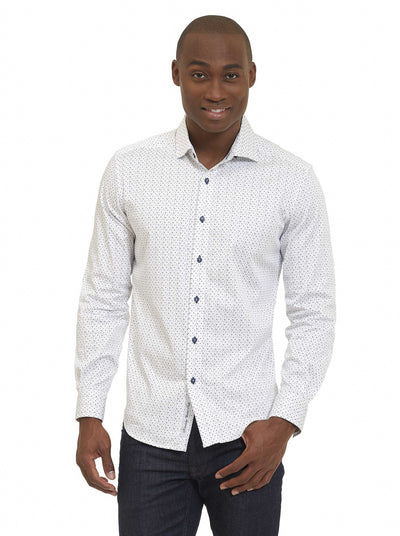 Robert Graham Clay Tailored Fit Sport Shirt MS171125TF