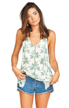 Show Me Your Mumu Hangout Tank in Walk the Palm MS8-1024
