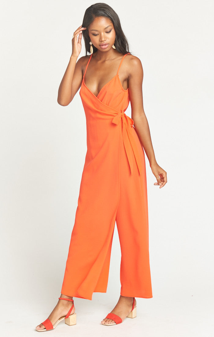 Show Me Your Mumu Daria Jumpsuit in Bellini MS9-1761