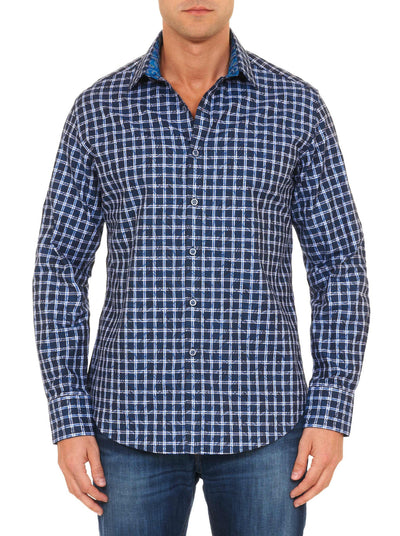 Robert Graham Waterford Sport Shirt in Grey RF151019CF
