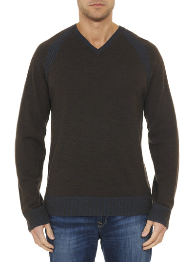 Robert Graham Regan V-Neck Sweater RF158013CF