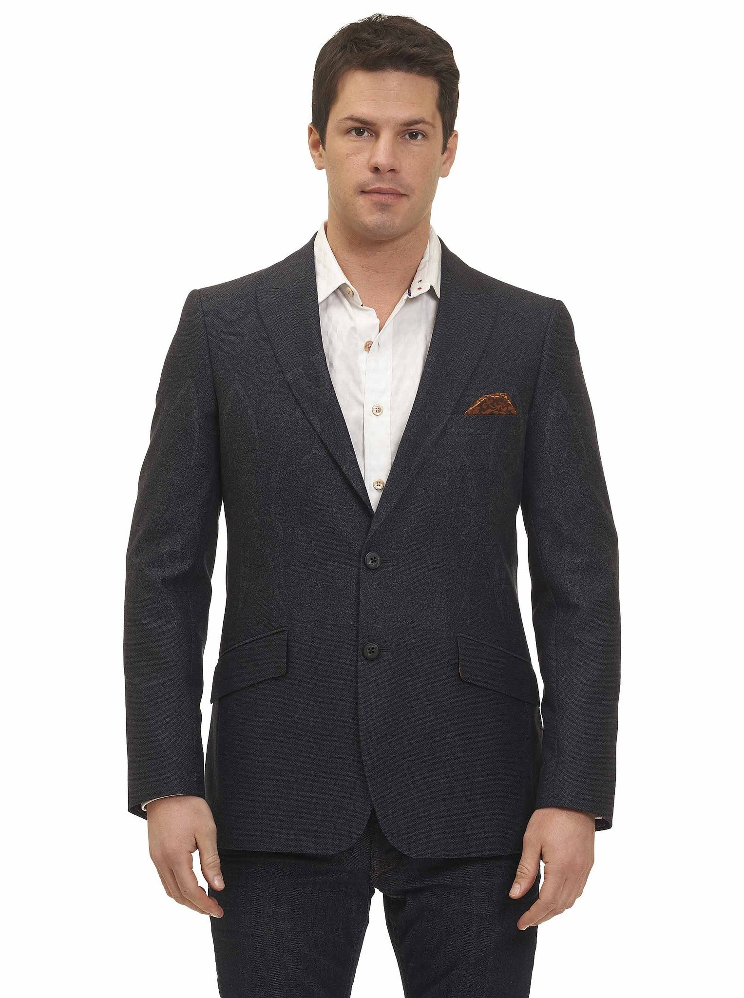 Robert Graham Antonine Sport Coat in Charcoal RF165009CF