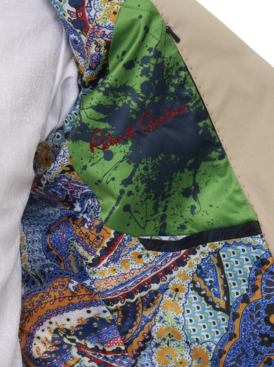 Robert Graham Julian Sport Coat in Khaki RR135002