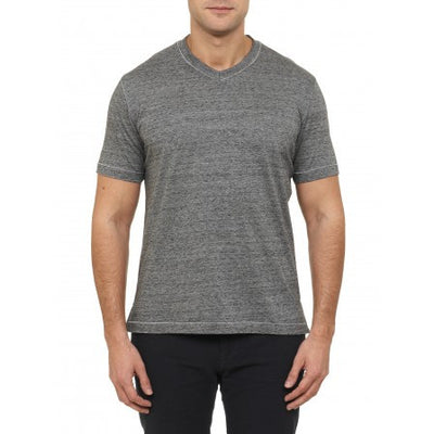 Robert Graham Battleship V-Neck Tee RR147001CF