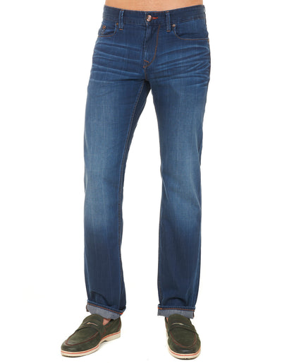 Robert Graham Laser Pamati Slim Fit Jeans RS153103S