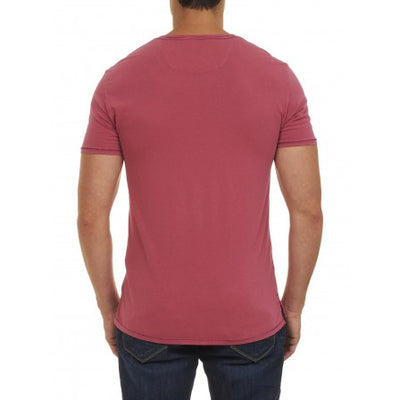 Robert Graham Barrel V-Neck Tee RS157202TF