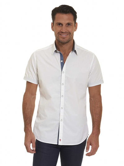 Robert Graham Tails Short Sleeve Shirt RS172070CF