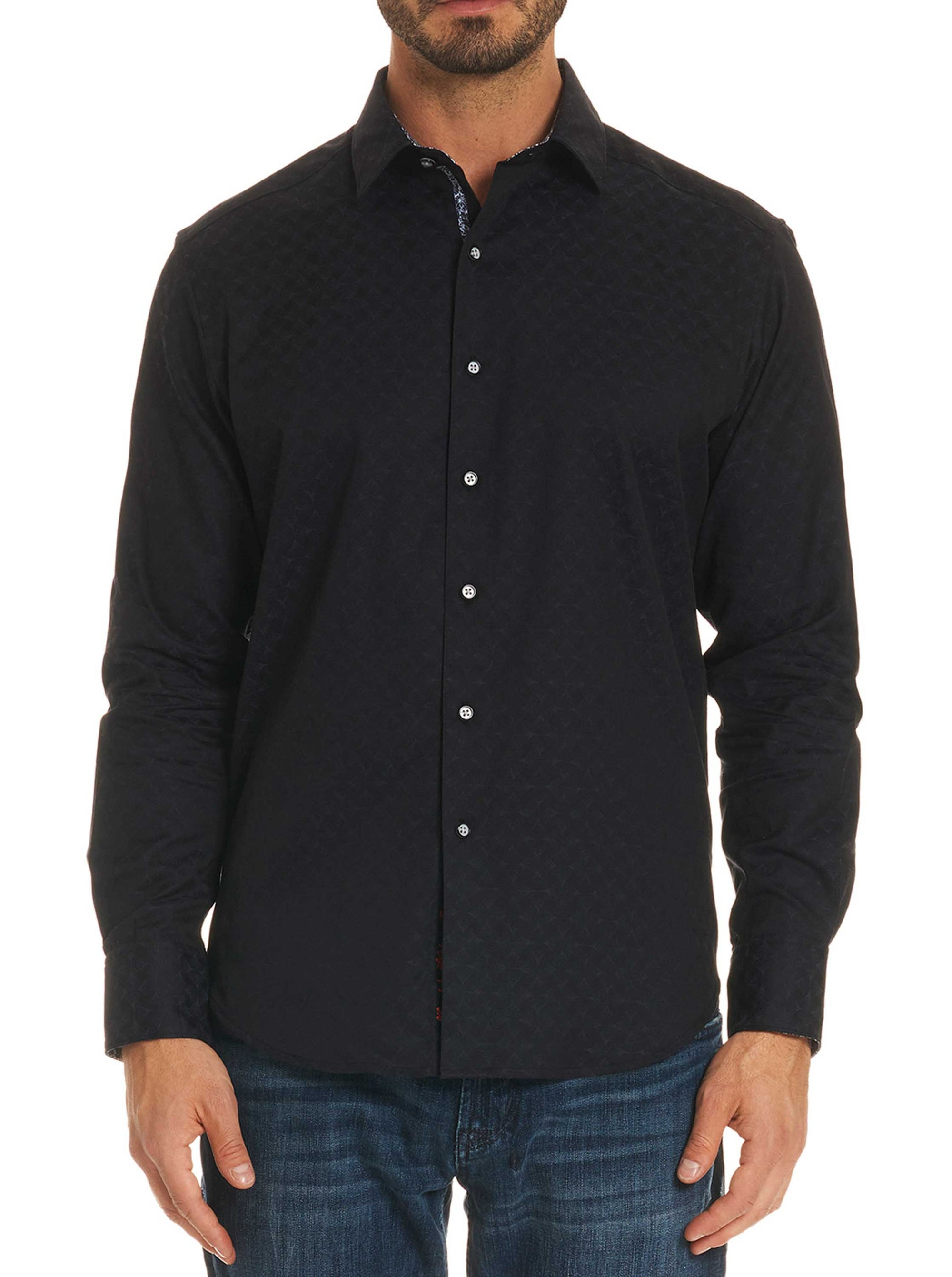 Robert Graham Diamante Button Down Sport Shirt RS181000CF
