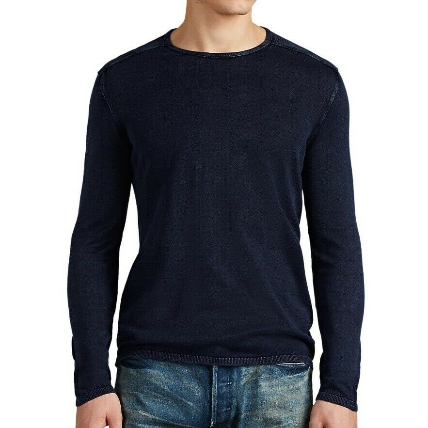 John Varvatos Lone Sleeve Crew Neck Sweater Y1833U4B-BPE5B
