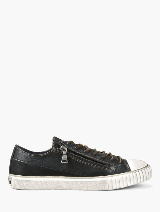 John Varvatos Double Zip Low Top Sneaker FB0003U1-A669B