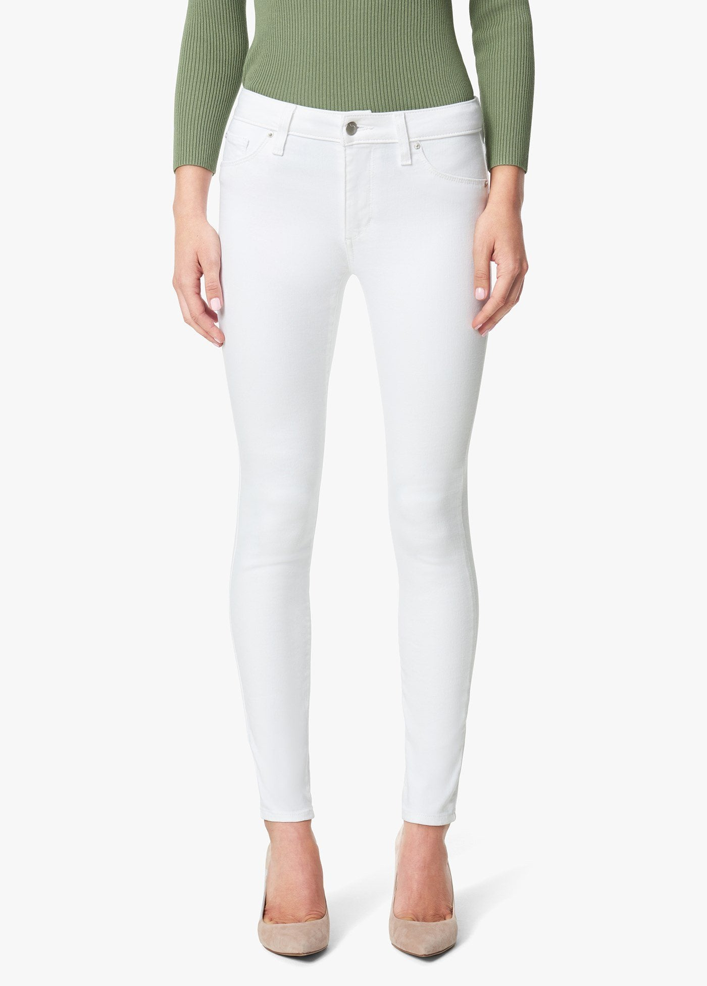 Joe's Jeans The Icon Ankle White 45TDCWHT5968