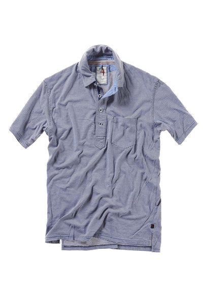 Relwen Stripe Finespun Polo M400908