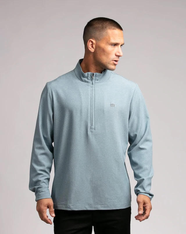 Travis Mathew Maximun Effort Qtr Zip Top 1MT334