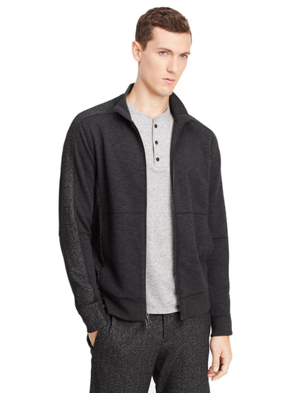 Vince Piece Dyed Fleece Track Jacket M27369014