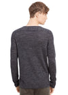 Vince Wool Linen Jaspe V-Neck Sweater M28206196