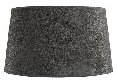 SHADE CLASSIC Grey Suede - lampe skjerm