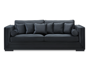 Broadway Sofa 3 seter (Sort Velour)